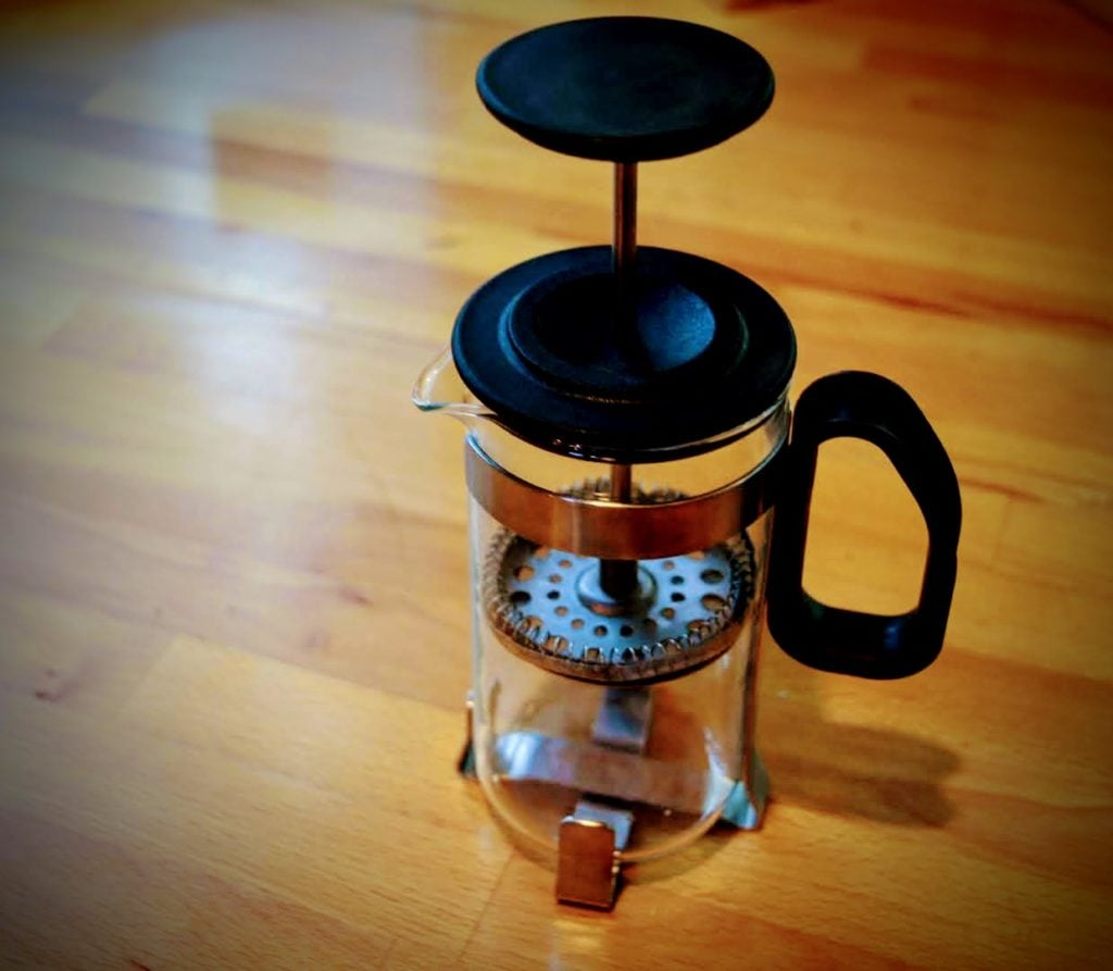 Single Serve Glass French Press