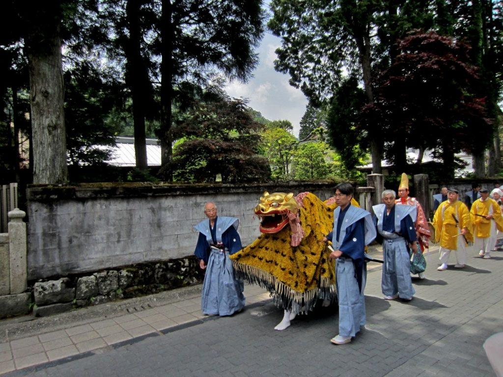 japan nikko tiger float