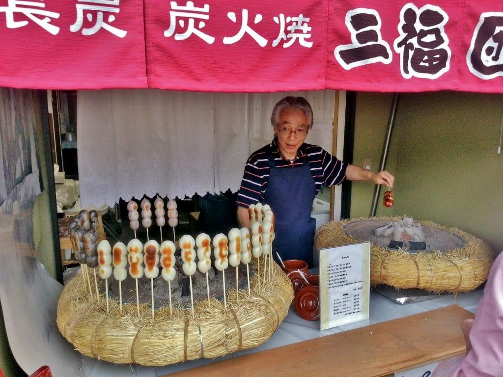 fried mochi