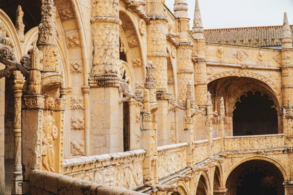 Jeronimos Monastery gargoyles