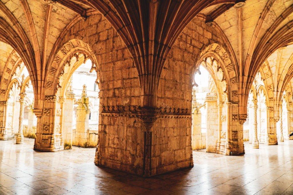 Limestone archways
