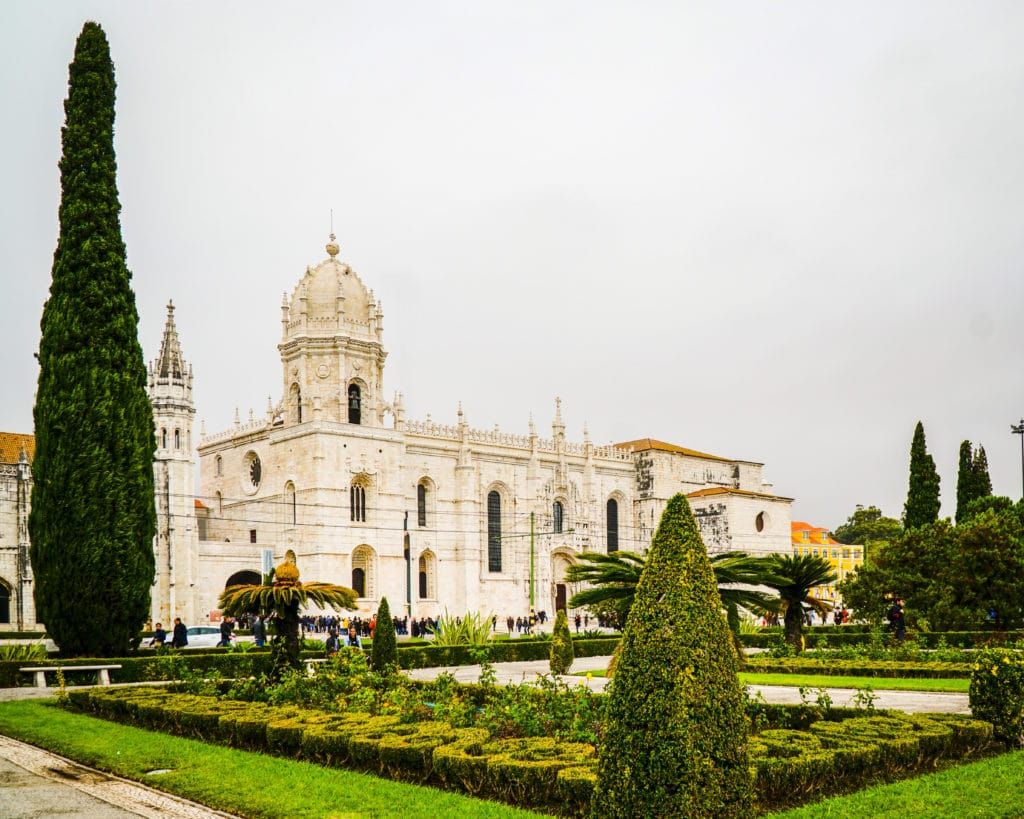 Jeronimos Monastery in Lisbon Portugal.