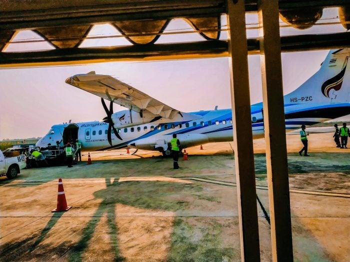 Sukhothai runway at the airport