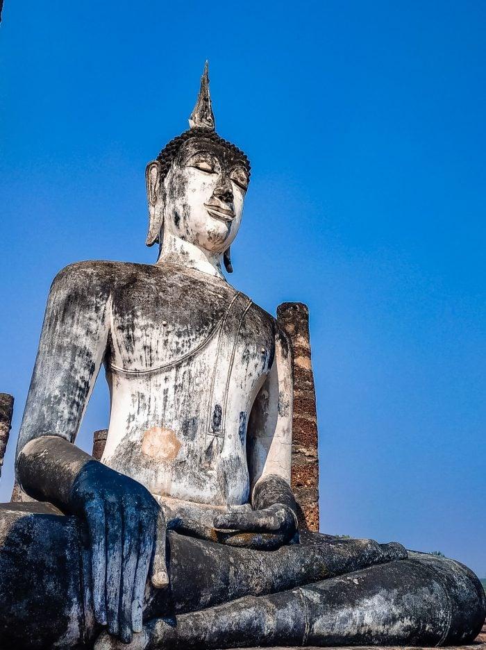 Large Buddah at Sukhothai Historical Park
