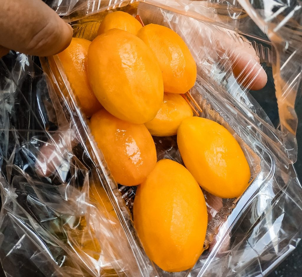 Thailand miniature mangoes