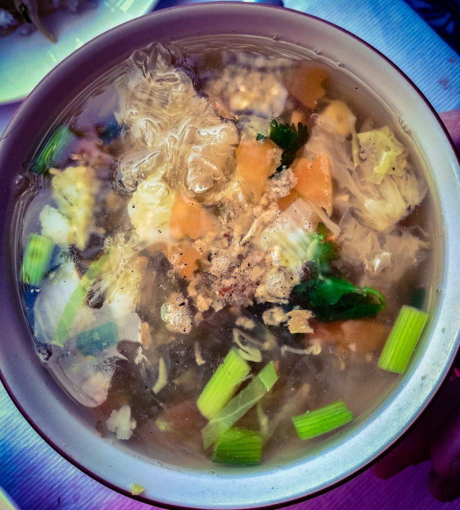 Tom Jude Woonsen Thai noodle soup
