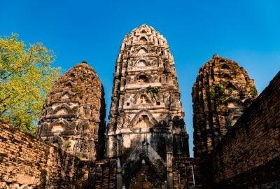 Ancient Ruins at Sukhothai Historical Park
