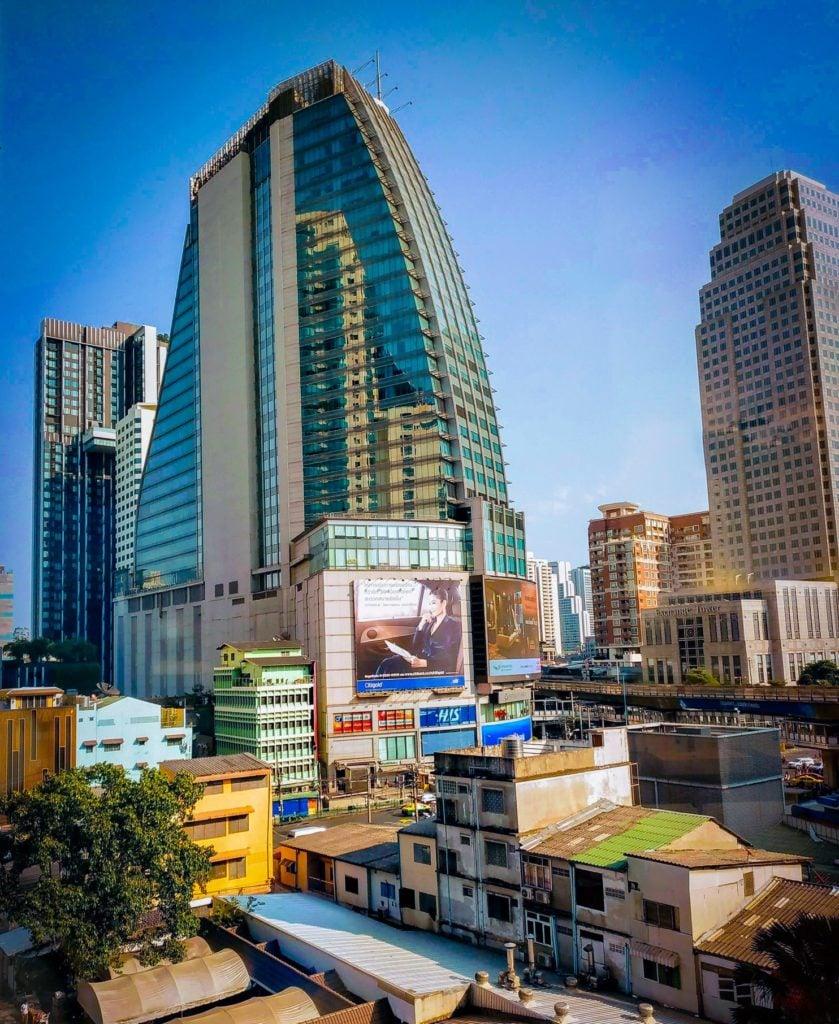 Bangkok City Skyline from Terminal 21