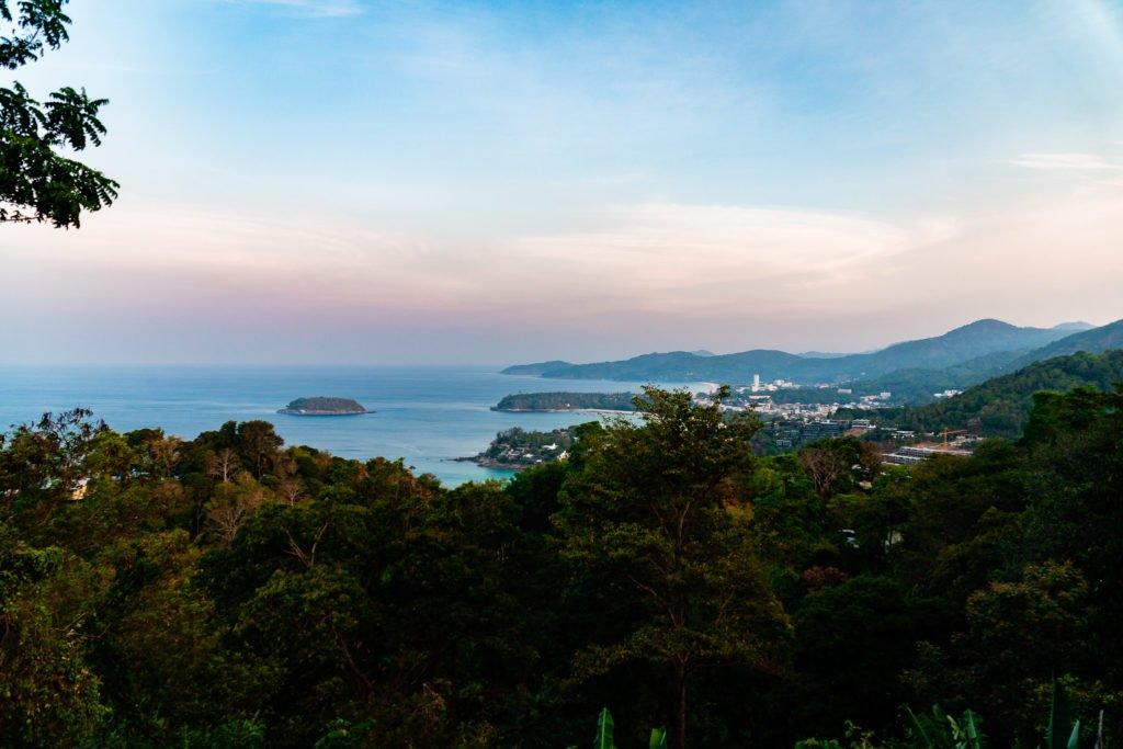 Karon View Point in Phuket Thailand