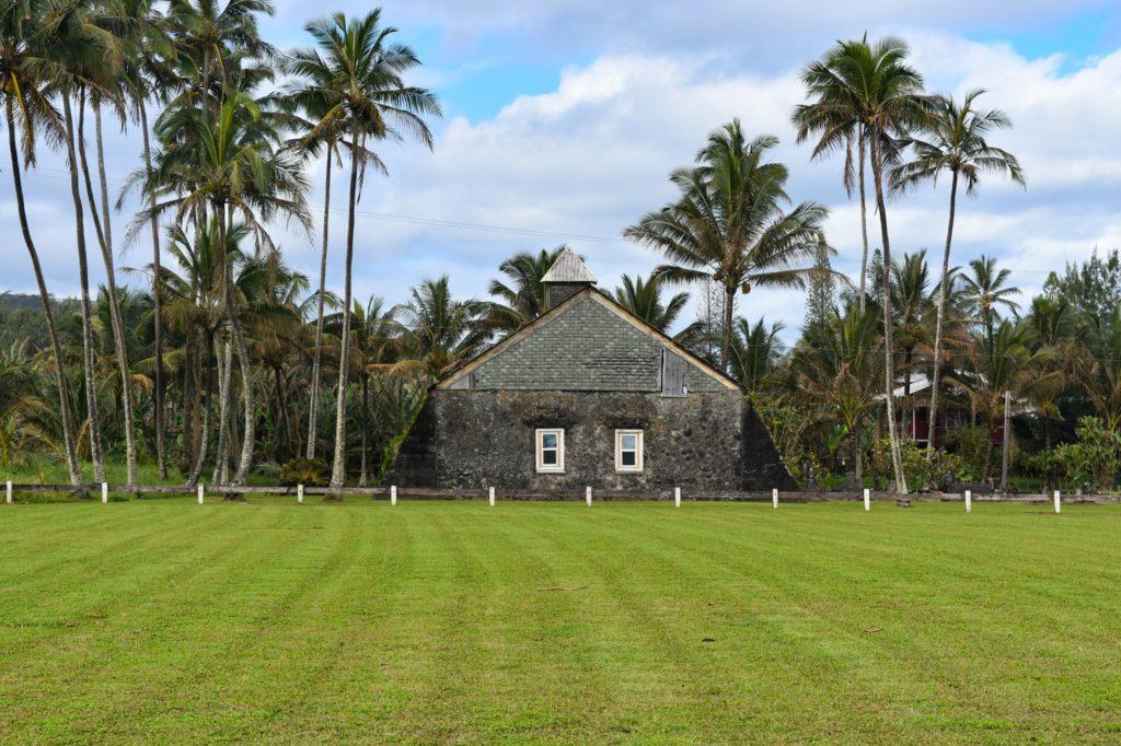 Keanae Church on the road to Hana
