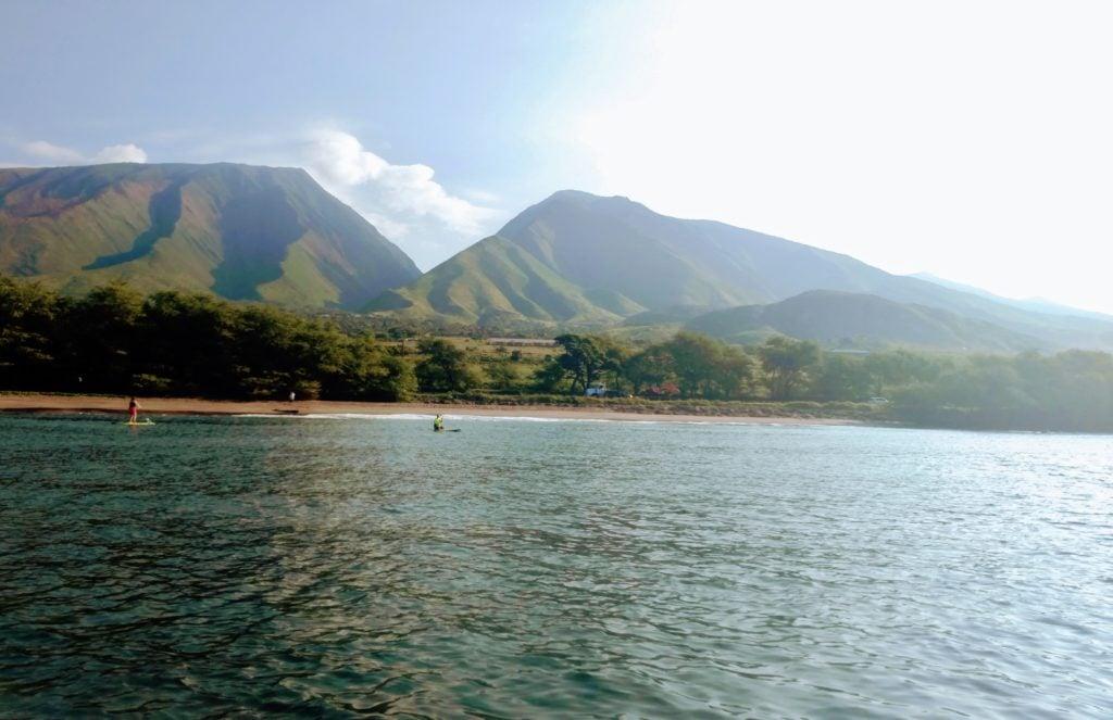 Olowalu Paddleboarders