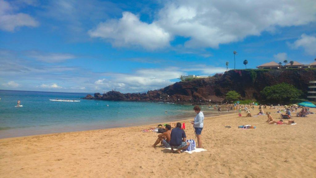 Black Rock at Kaanapali Beach Maui