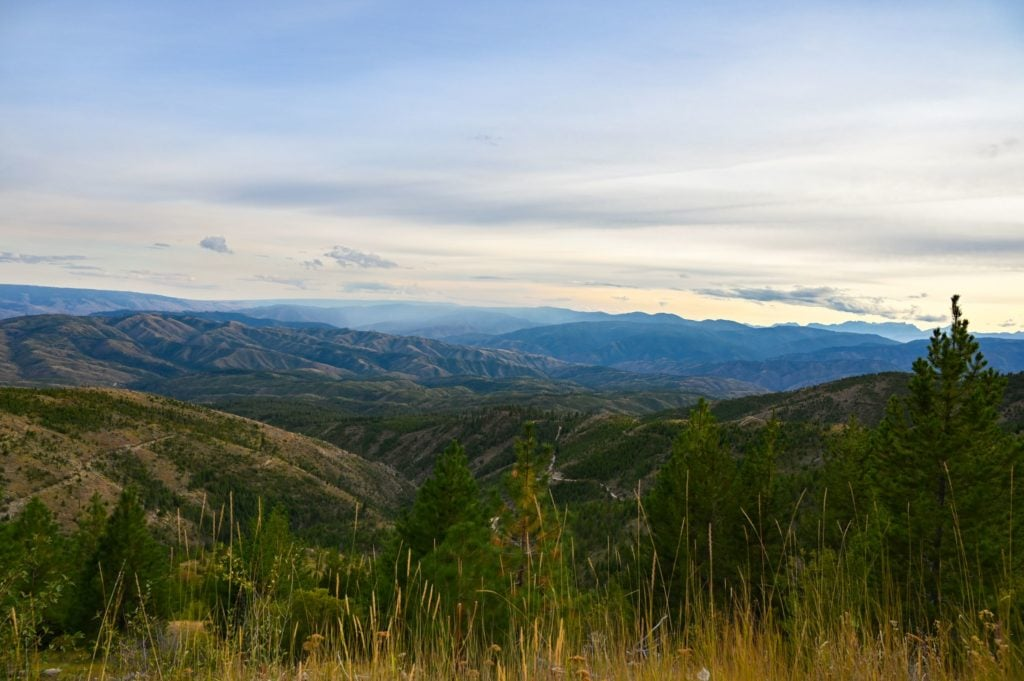 Beautiful Mountain views in Washington state
