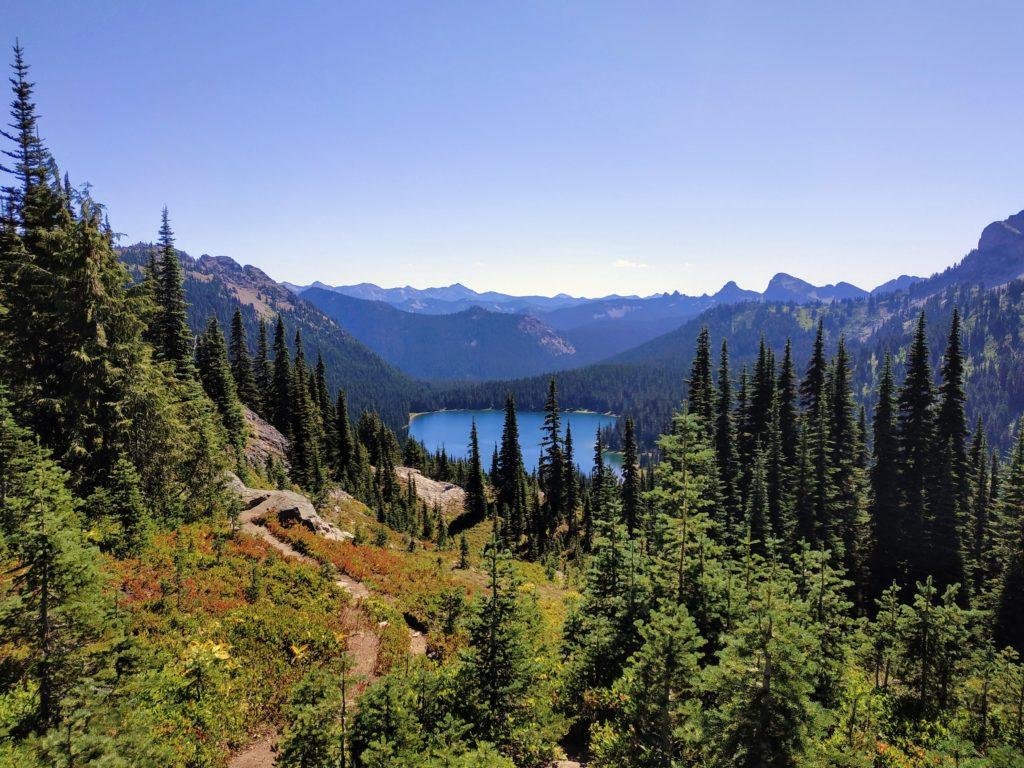 Dewey Lake at Mount Rainier