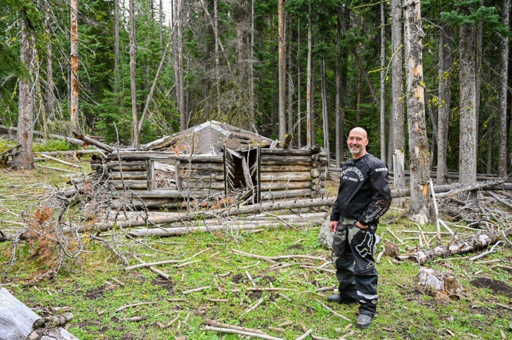 Skull and Crossbone Cabin on WABDR