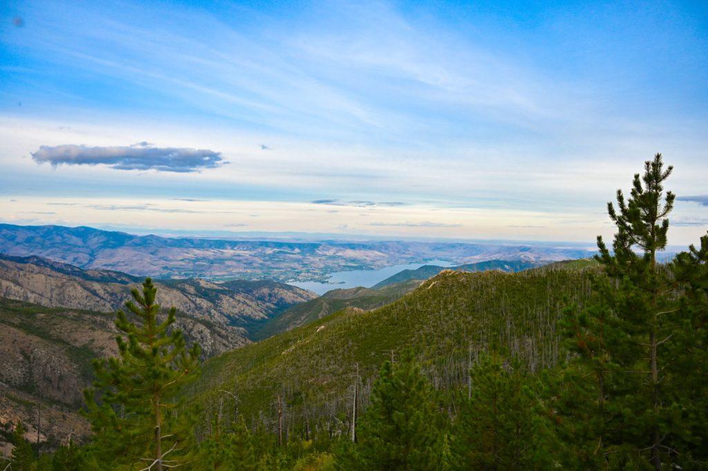Lake Chelan Views from McKenzie Ridge