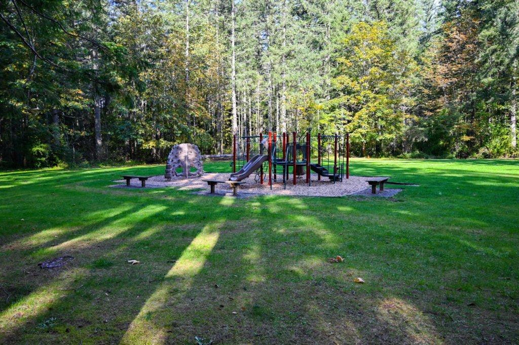 Kids playground at Nolte State Park