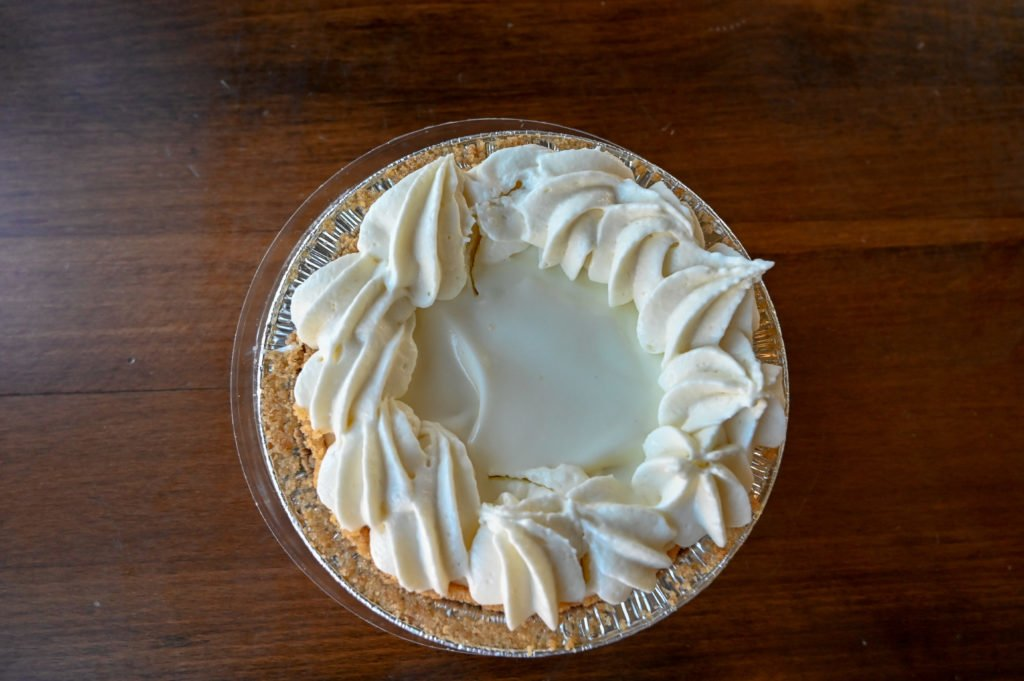 Mini key lime pie from Key West Pie Co