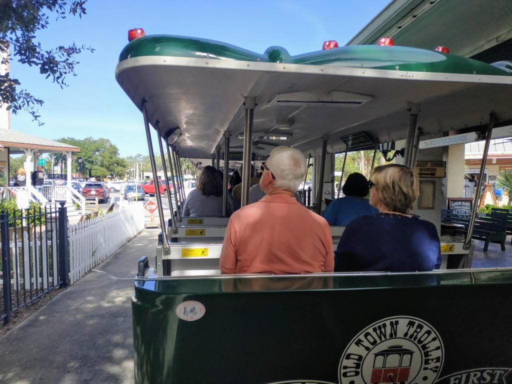Old Town Trolley St Augustine