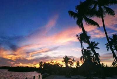 sunset on Islamorada Florida Keys