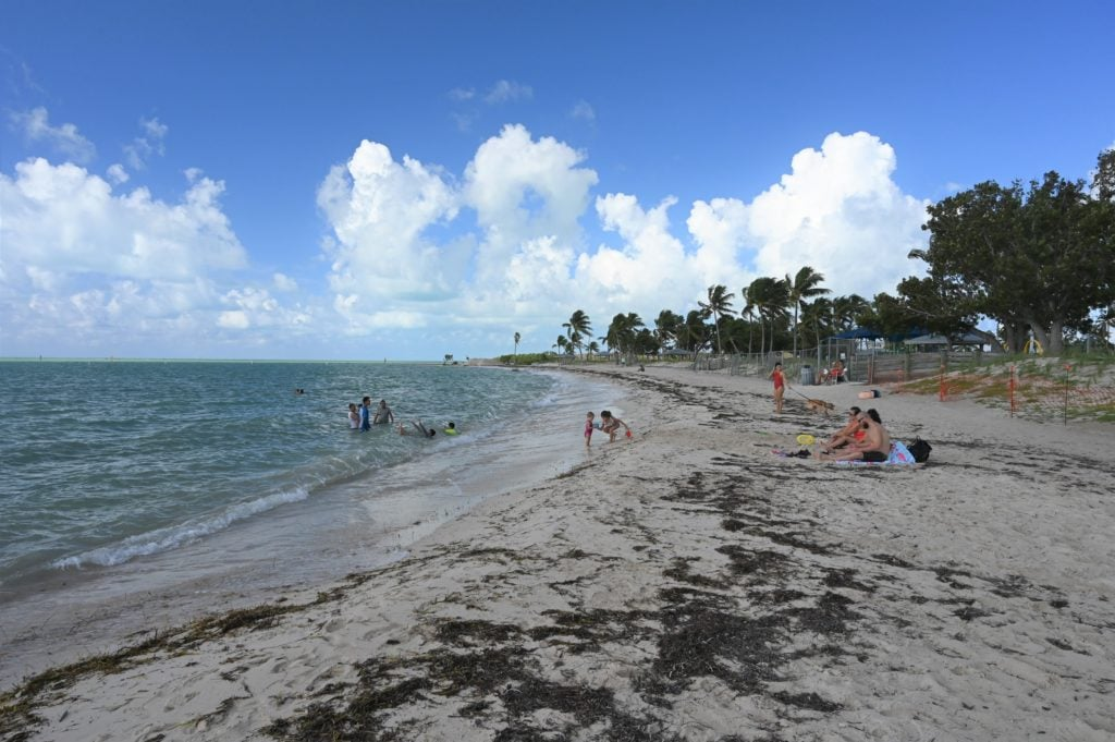 Sombrero Beach in Marathon, Florida.