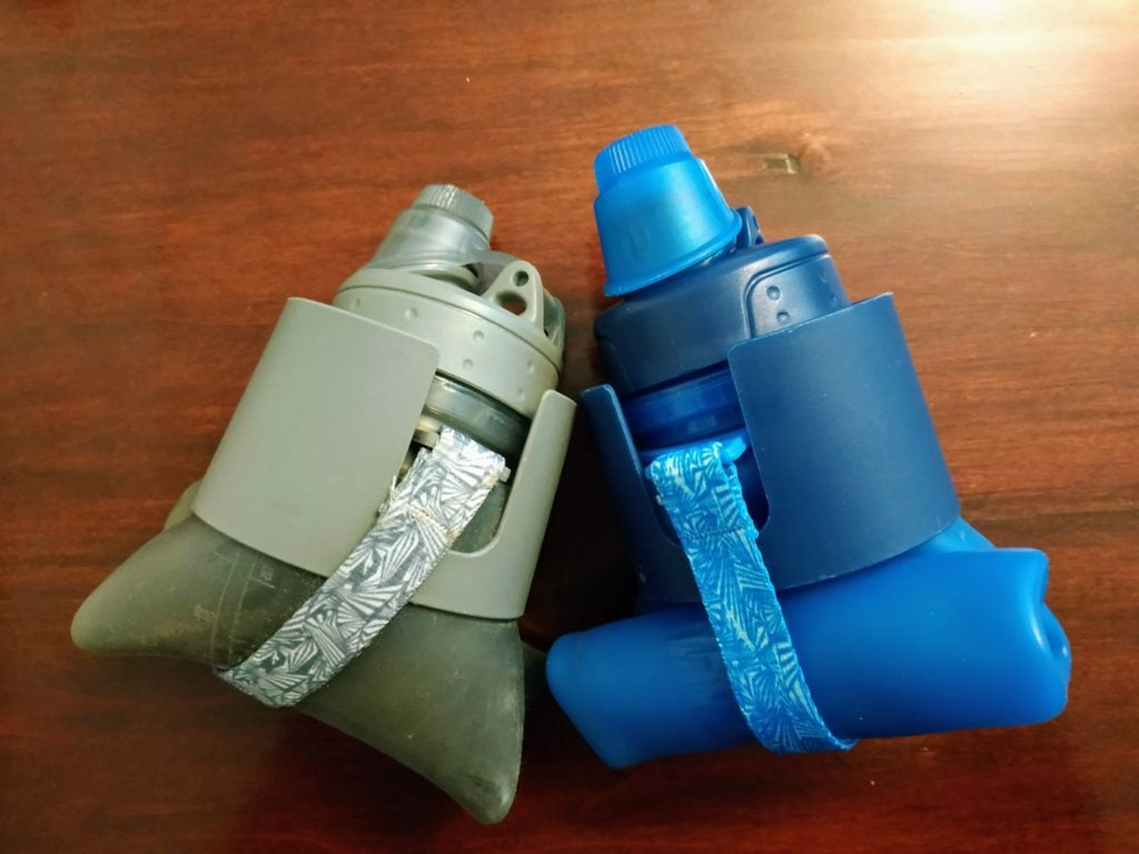 collapsible foldable water bottles