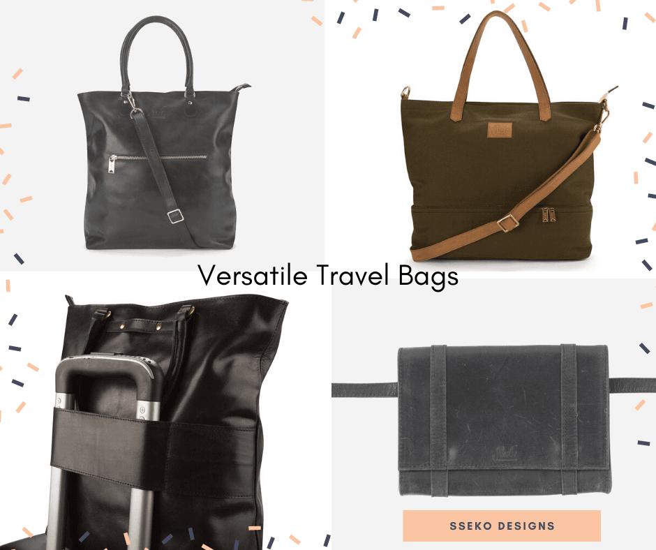 sseko designs travel bags