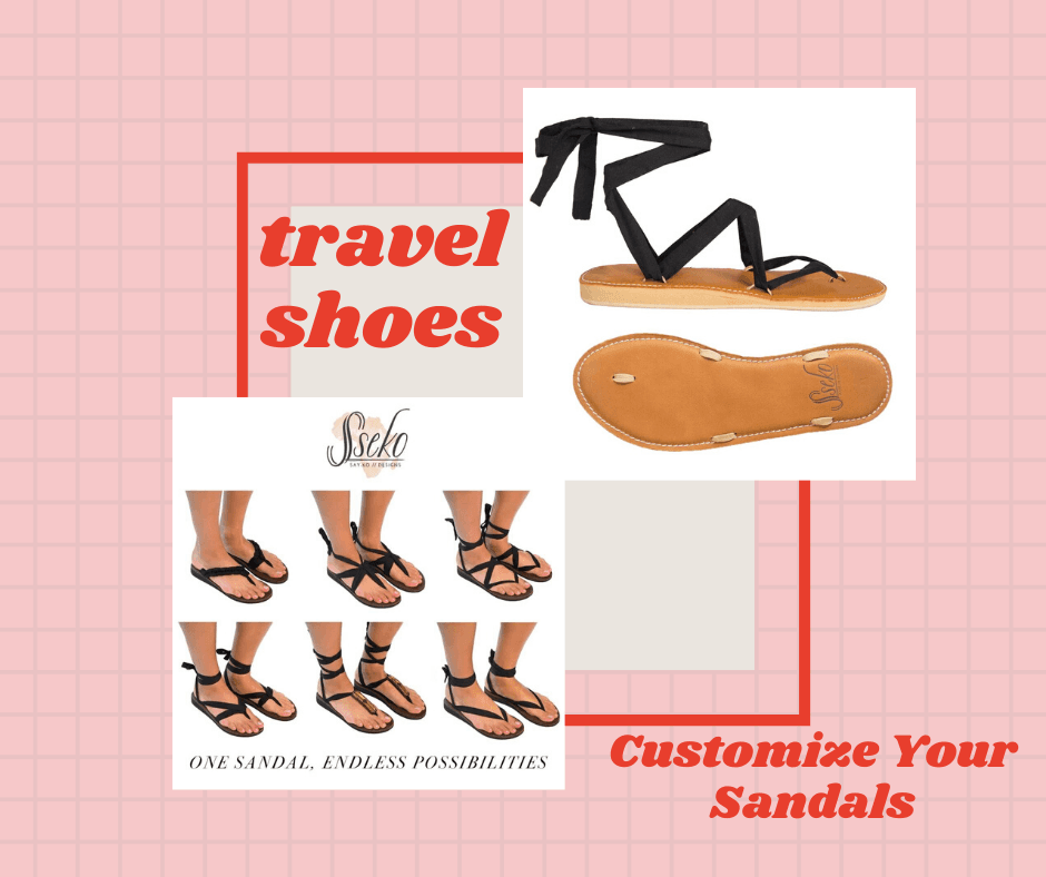 travel ribbon sandals from sseko