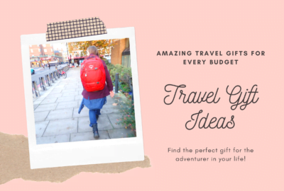 travel gift ideas girl with backpack