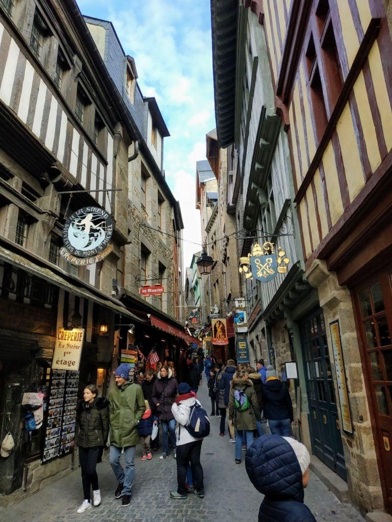 La Grand Rue Mont Saint Michel