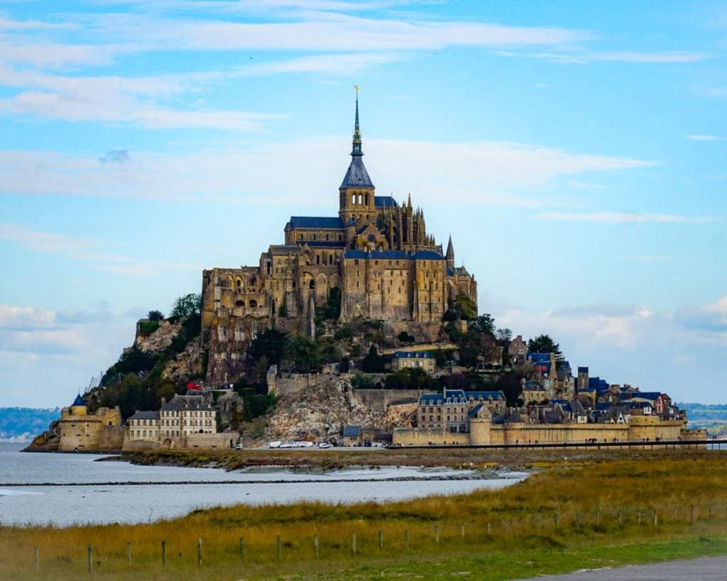 Mont-Saint-Michel at low tide