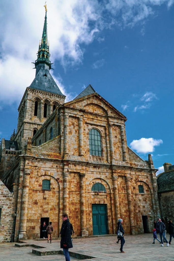 Mont-Saint-Michel Abbey Church