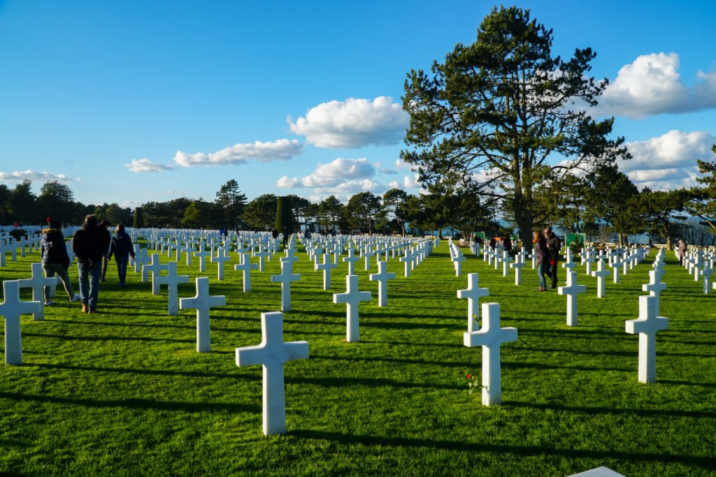 Normandy American Cemetery for WWII