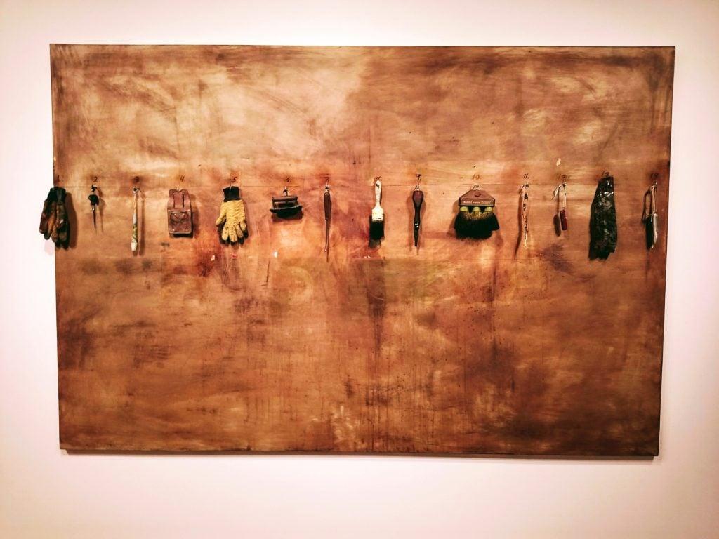 artwork of tools at Seattle Art Museum