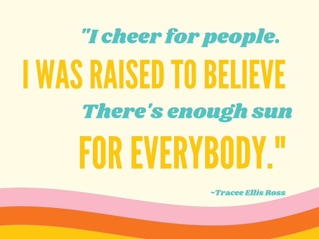 cheer for people quote
