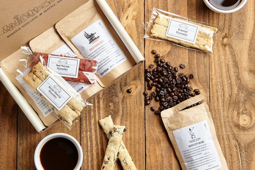 Biscotti and Coffee Box