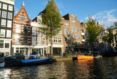 Amsterdam water canal