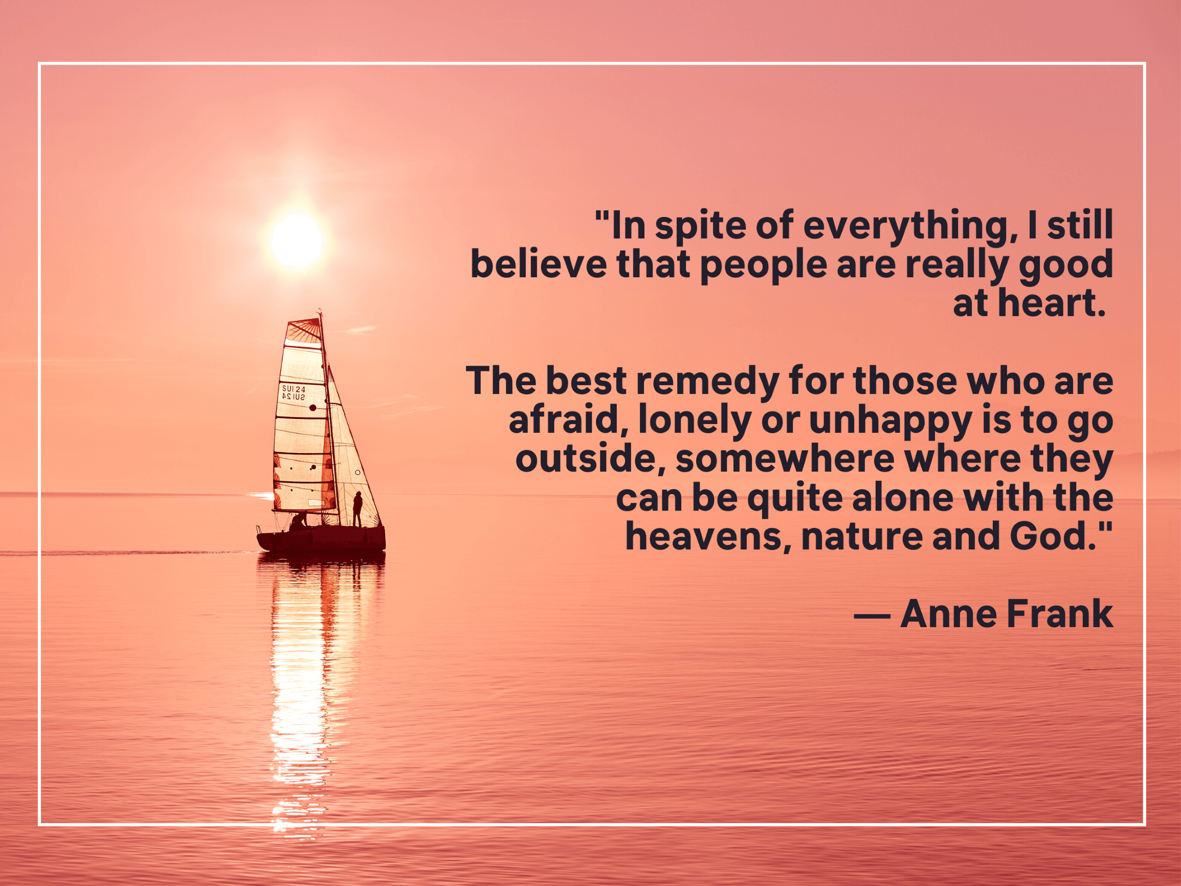 Quote about nature and God
