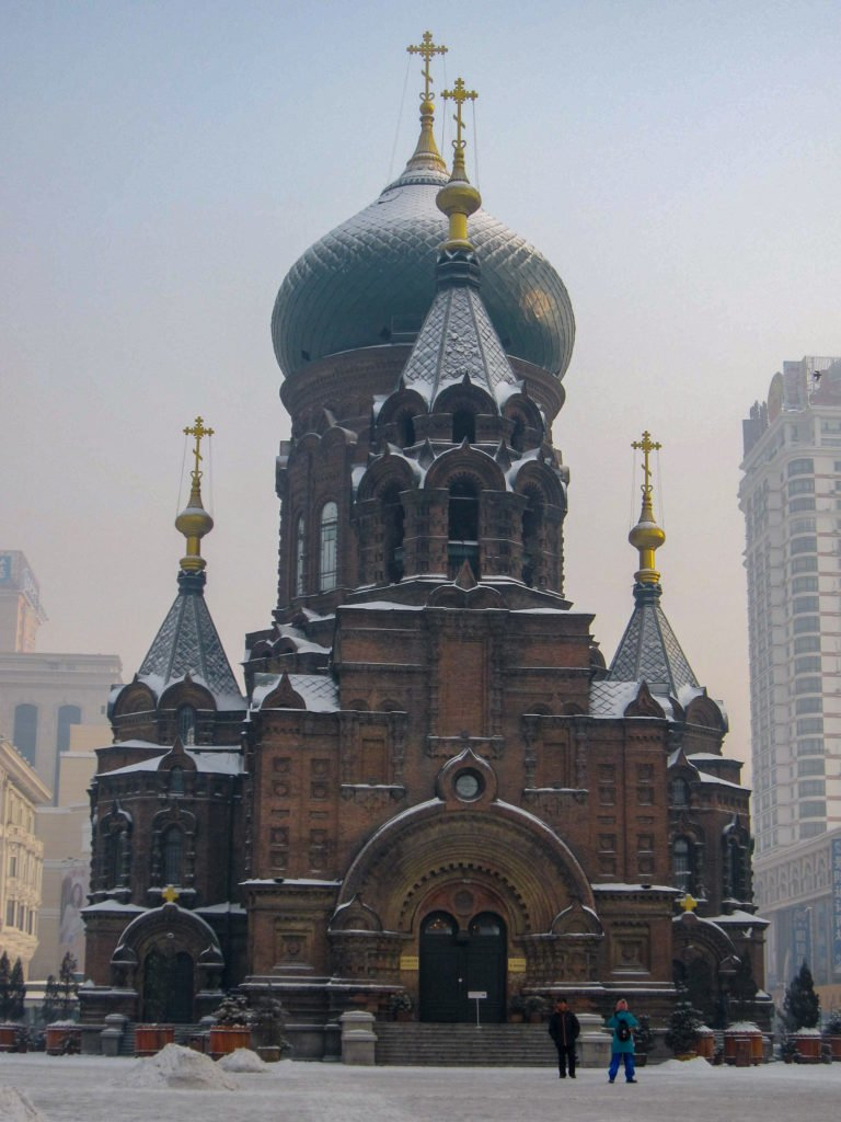 Saint Sophia Cathedral Harbin China
