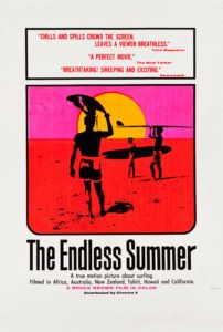 The Endless Summer travel movie poster
