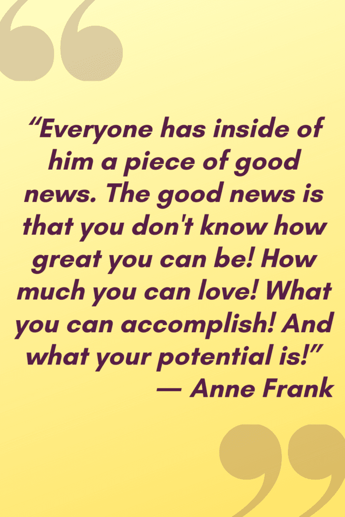 good news Anne Frank quote (1)