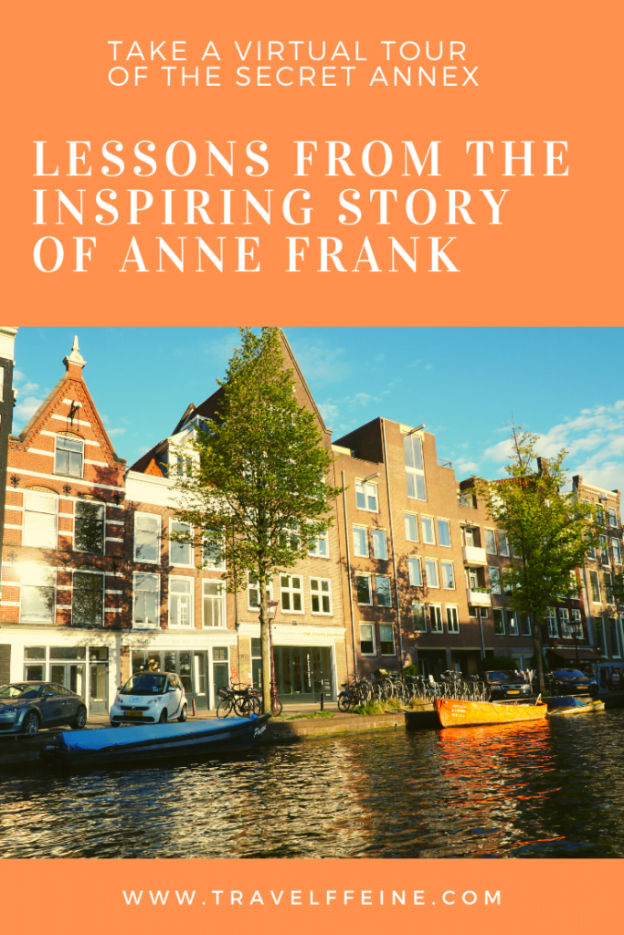 isolation anne frank tour annex