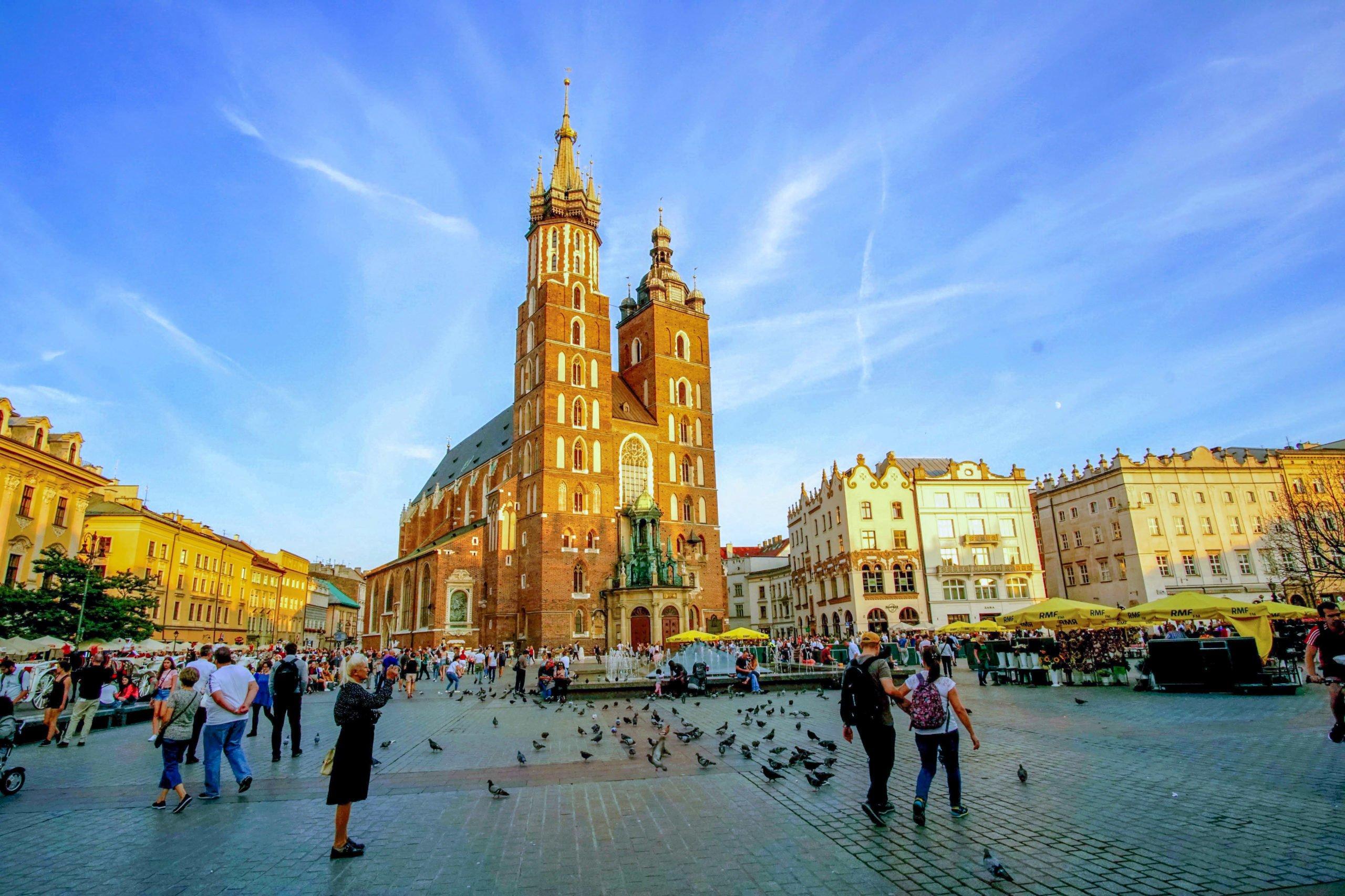 Krakow Main Market Square Rynek Glowny