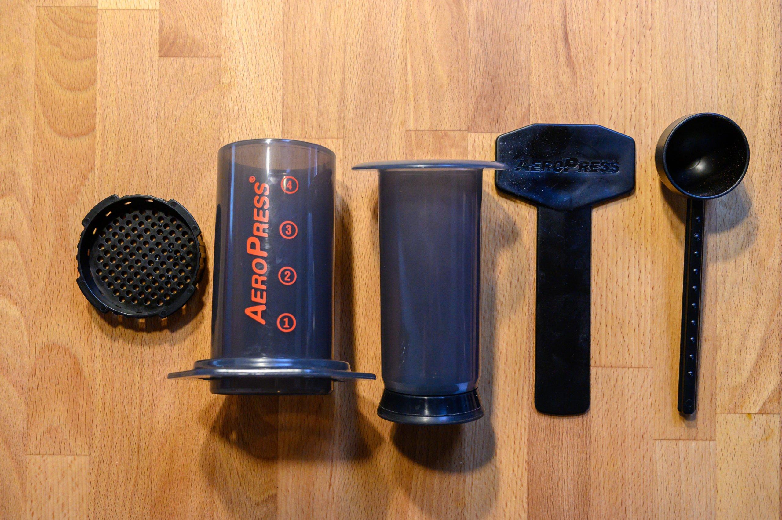 Aeropress coffee maker parts