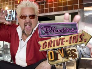 Diners Drive-Ins and Dives food travel show