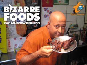 bizarre foods tv show