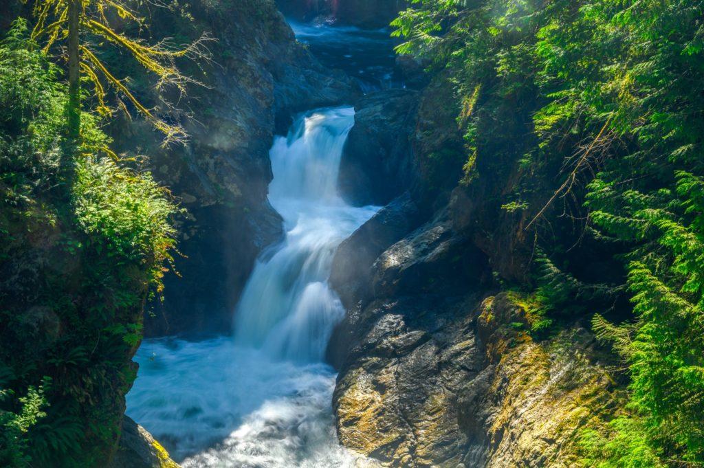 upper falls at twin falls