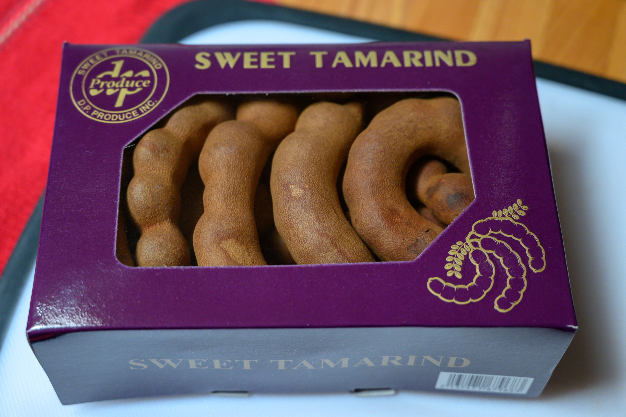 box of sweet tamarind