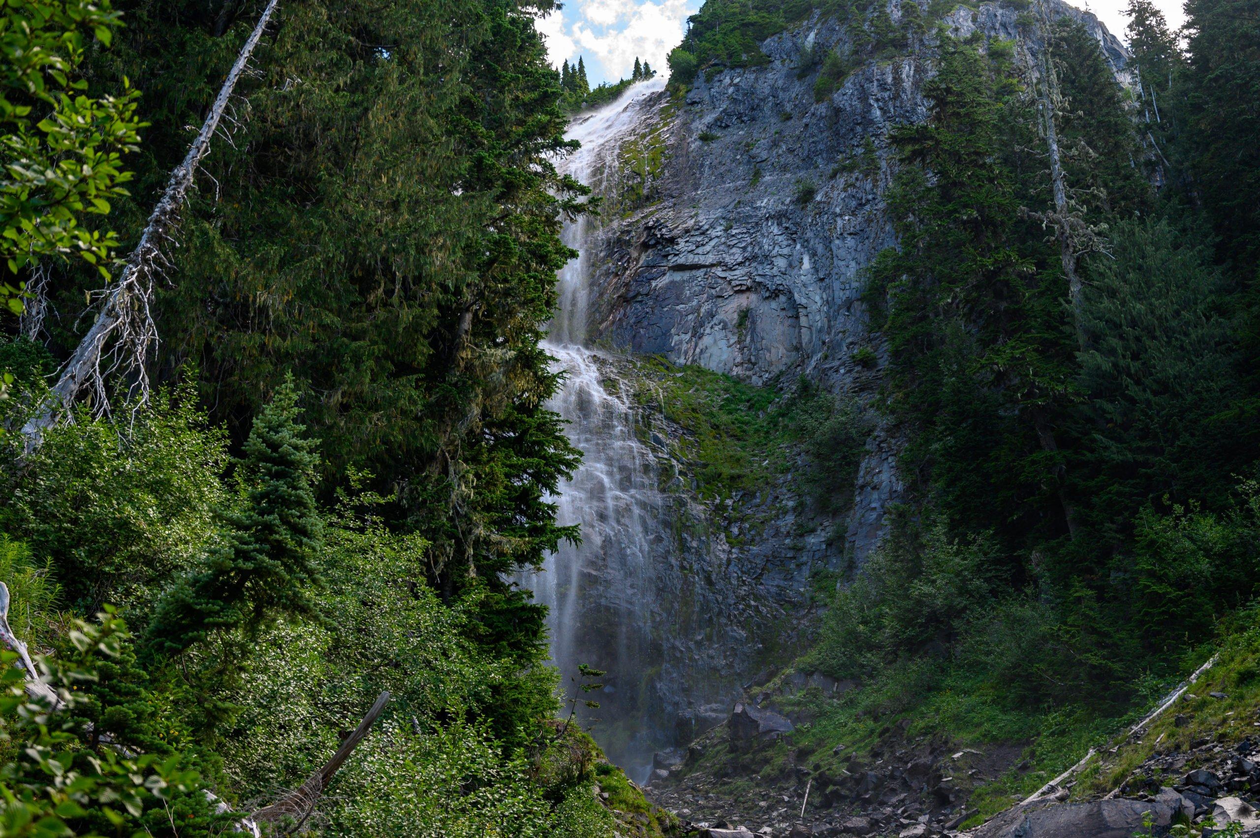 Spray Falls at Mt Rainier