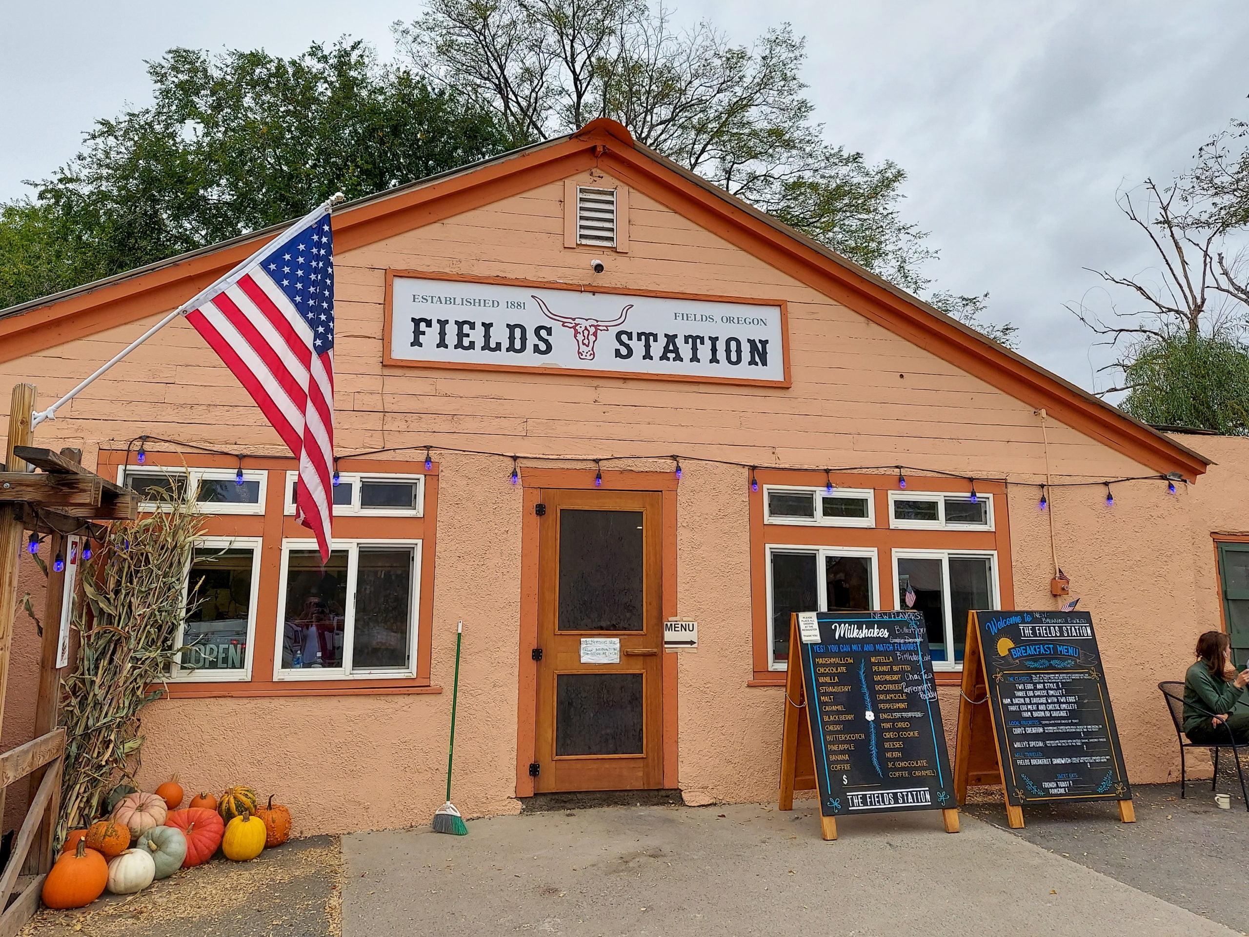 The Fields Station near the Alvord Desert